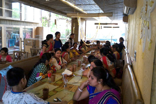 Hosting Events like Birthday Parties and Kitty Parties at Ammaji's - 2 May 16