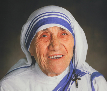 Why it is so funny that Mother Teresa becomes a Saint today – 4 Sep 16