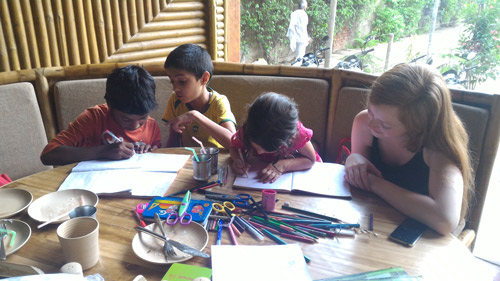 Apra getting used to School Routine – 14 Sep 16