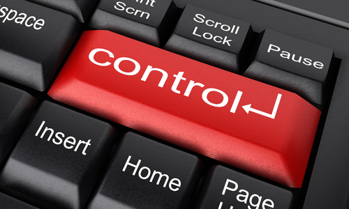 Check yourself: are you a Control Freak? - 15 Sep 16