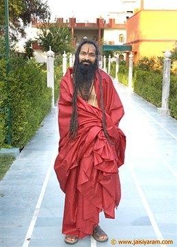 No sewn Clothes for Swami Ji - 22 Feb 08