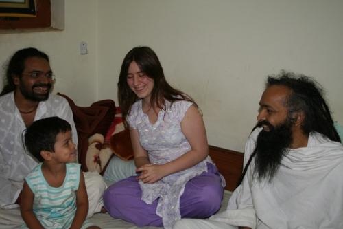 Having Arrived in Vrindavan - 2 Sep 08