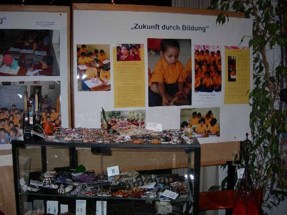 Charity Bazaar for our School and Poor Children in India - 13 Nov 09