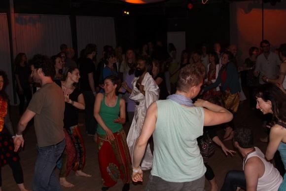 Chakra Dance Party in Copenhagen - 9 May 10