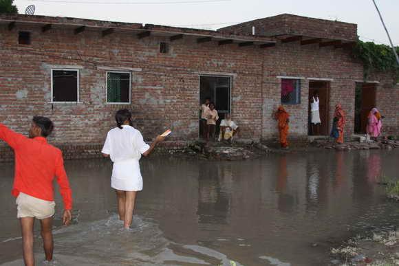 Experience of the Flood in Vrindavan - 17 Sep 10