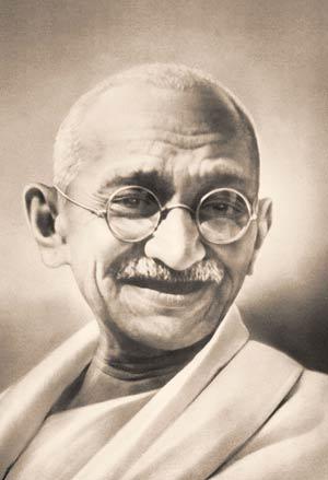 Kann ein Hund unberührbar sein? - Mahatma Gandhis Geburtstag - 2 Okt 10
