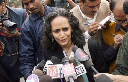 Arundhati Roy: Kashmir ist nicht Teil Indiens - 27 Okt 10