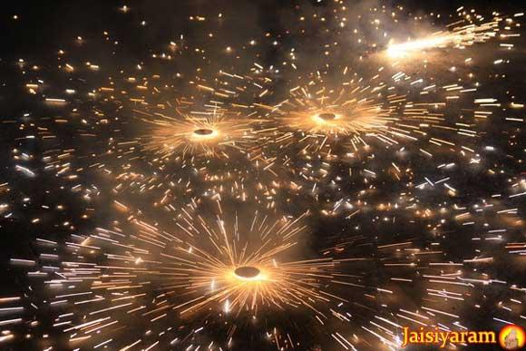 Diwali at the Ashram - Fireworks or not? - 5 Nov 10