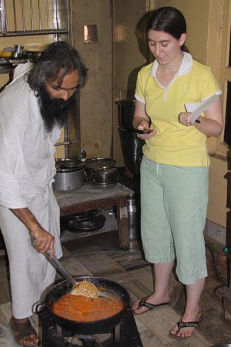 Mushroom Matar Paneer - Mushroom, Peas and Indian Cheese - 13 Nov 10