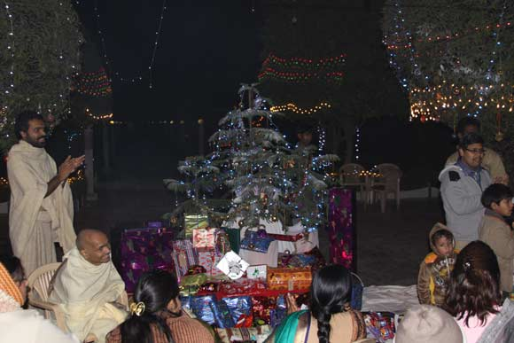 Celebrations are not a Matter of Religion but of Love - 26 Dec 10