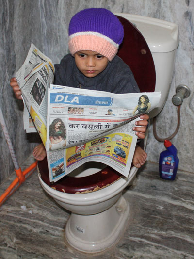 65 Percent of Population without Toilet - 3 Jan 11