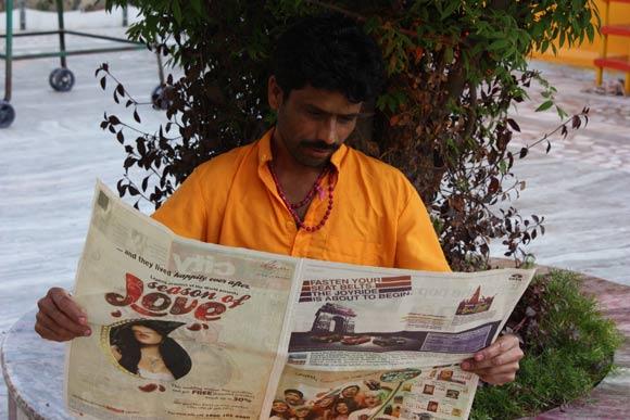 Rajaram - In der Ashram Familie so akzeptiert wie er ist - 25 Mar 11