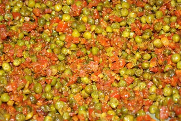 Indisches Gajar Matar Rezept - Karotten und Erbsen auf Ayurvedische Weise - 2 Apr 11