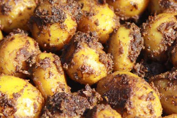 Ayurvedic Dum Aloo Recipe - Indian Vegetarian Potato Recipe - 23 Apr 11