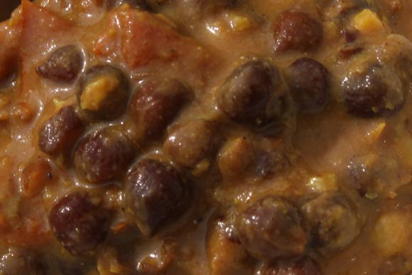 Kale Chane - Ayurvedic Black Chickpea Recipe Online - 30 Apr 11