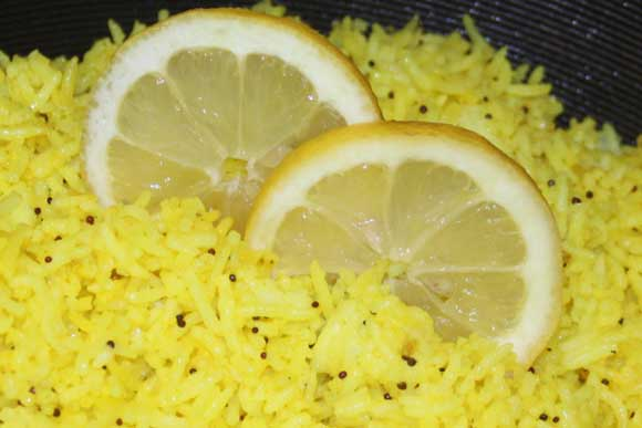 Lemon Rice - Delicious Ayurvedic Online Recipe - 21 May 11