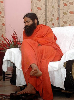 Baba Ramdev and Indian Government pretending to fight Corruption and Black Money - 6 Jun 11