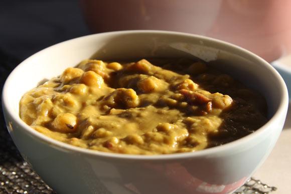 Chana Matar - Ayurvedisches Rezept für Kichererbsen mit grünen Erbsen - 11 Jun 11