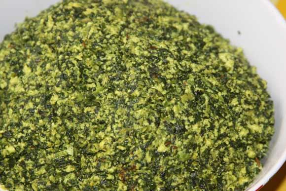 Ayurvedic Palak Paneer Recipe - Mashed Paneer with Spinach in Pieces - 18 Jun 11