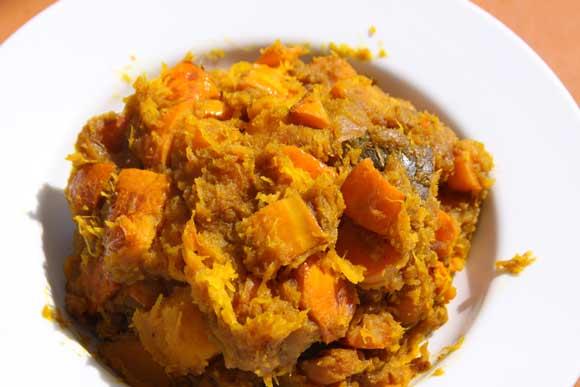 Easy Ayurvedic Pumpkin and Carrot Recipe - 30 Jul 11