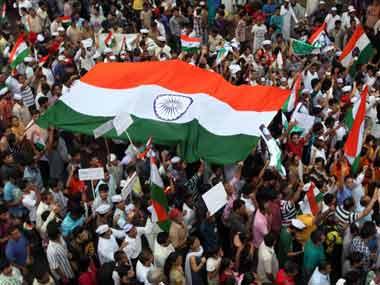 Aufruf an die, die sich gegen Anna Hazare und seine Kampagne gegen Korruption stellen – 22 Aug 11