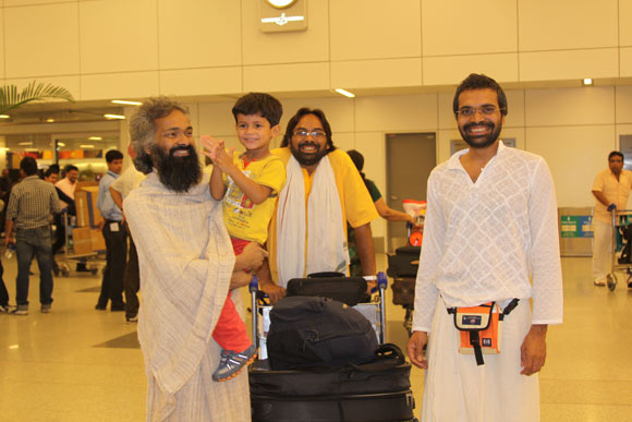A wonderful Feeling - Coming Home to the Ashram - 1 Sep 11