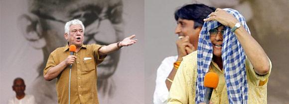 Kiran Bedi und Om Puri angeklagt – Indiens Redefreiheit geht verloren – 2 Sep 11
