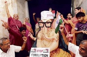 Bitte verehrt Anna Hazare nicht als Gott - 5 Sep 11