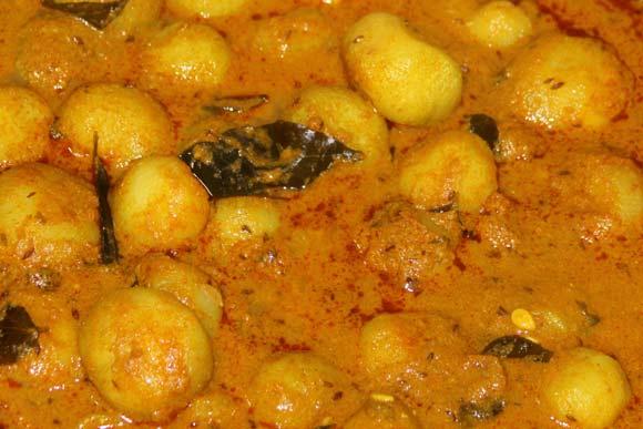 Ayurvedic Tinda Tomater Recipe - Indian Baby Pumpkin in Tomato Sauce - 10 Sep 11