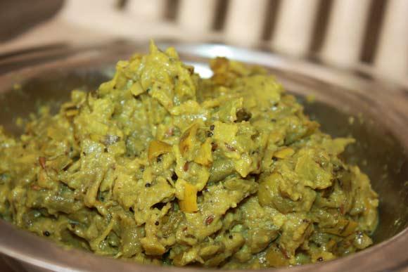 Ayurvedische Torai - leckeres Luffa Gemüse Rezept - 24 Sep 11
