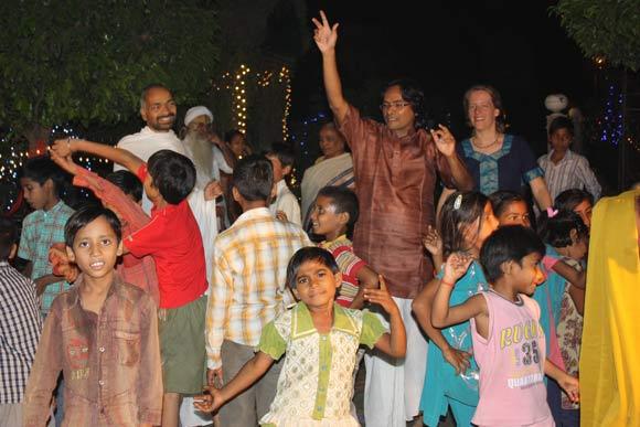 My 40th Birthday Celebration with Children at the Ashram