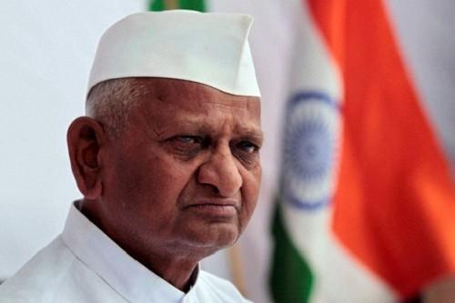 Trotz Enttäuschung von Anna Hazare Unterstützung für den Kampf gegen Korruption – 5 Dez 11