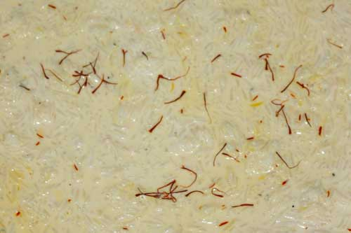 Doodh Bhat Recipe - Indian Milk Rice with Saffron and Cardamom - 14 Jan 12