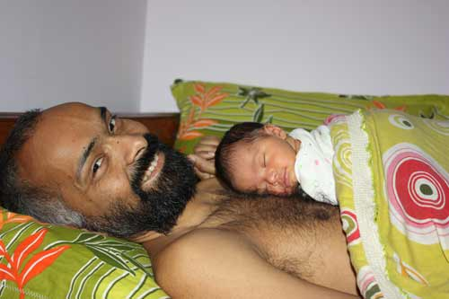 Baby Cot vs. Baby in Bed - Physical Closeness, Security and Trust - 16 Jan 12